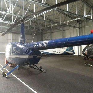 Helicopter Hangar Frisomat