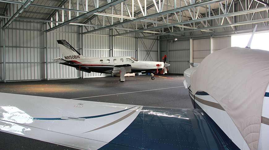 Pavilhão Desportivo para Aviação Frisomat