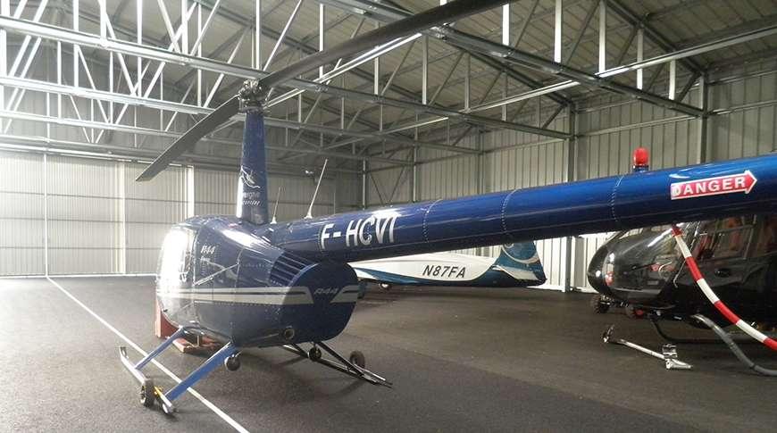 Pavilhão Desportivo Metálico Hangar Helicóptero Frisomat