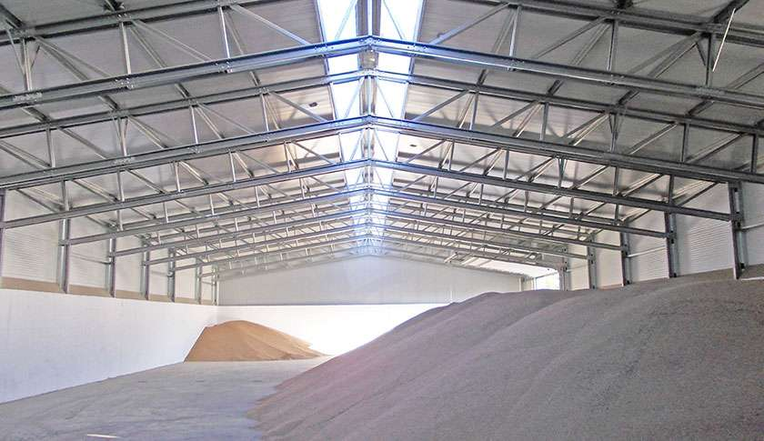 Pavilhão Industrial Metálico Armazenagem a Granel Frisomat