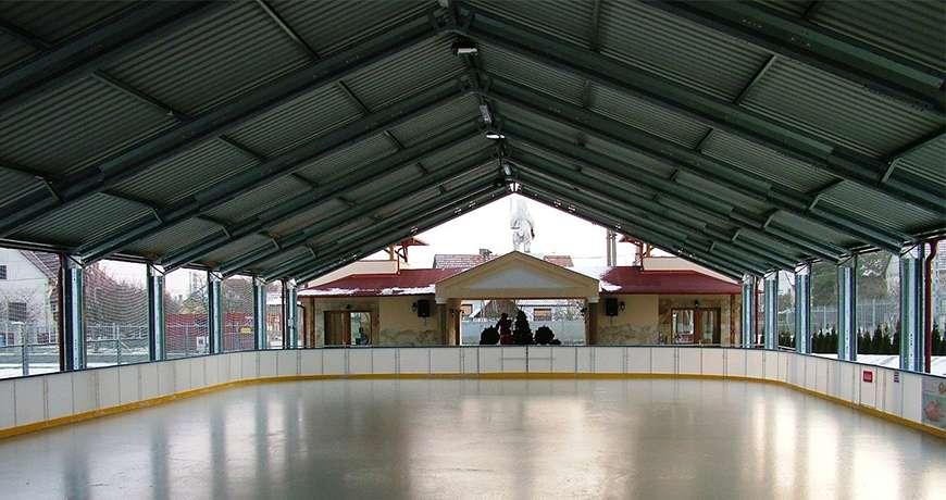 Pavilhão Metálico Patinagem Gelo Frisomat