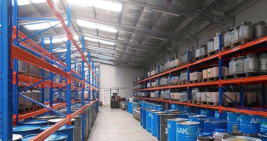 Pavilhão Metálico Industrial Químicos Segurança Interior Frisomat