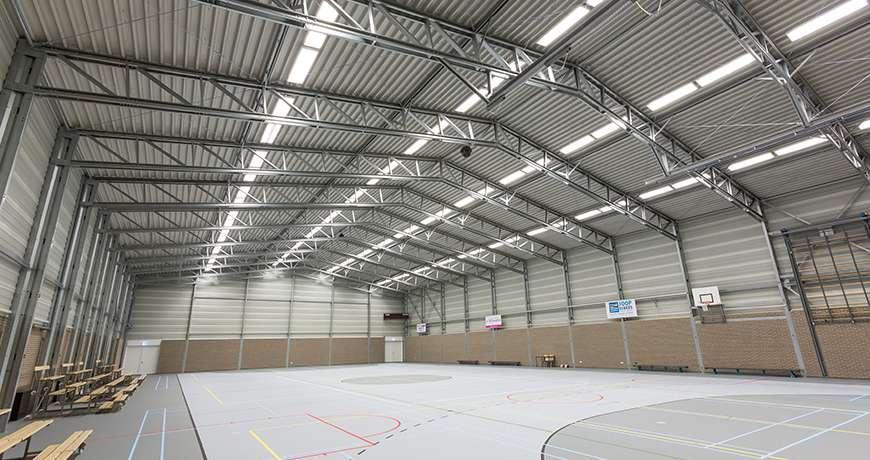 Pavilhão Metálico Desportivo Multiusos Interior Frisomat