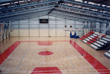 Sports Hall basketball arena steel construction safe easy robust