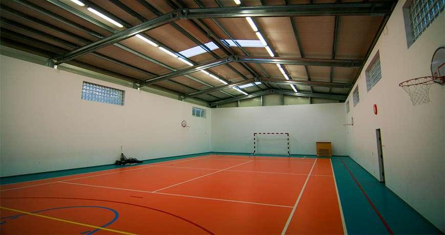 Pavilhão Metálico Desportivo Multiusos Interior Futebol Frisomat