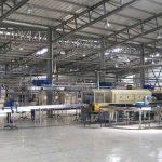 Pavilhões para unidades de produção