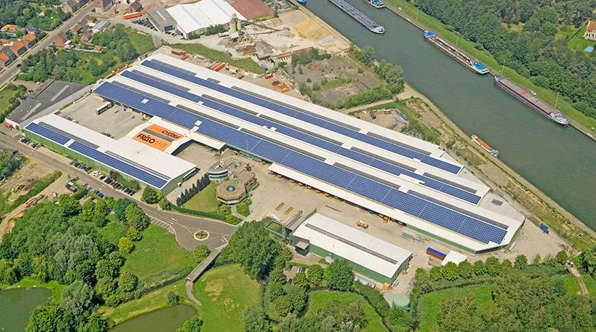 Pavilhões Industriais em Aço Pré-fabricados Frisomat