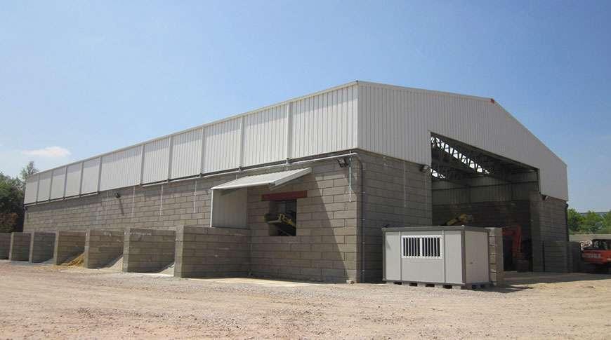 Pavilhão Industrial em Aço Armazenagem a Granel Frisomat