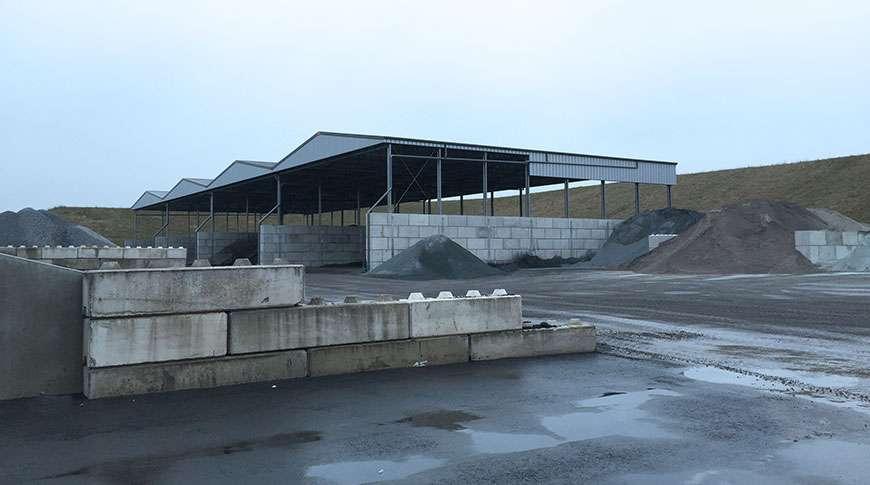 Pavilhões Industriais em Aço Armazenagem a Granel Frisomat