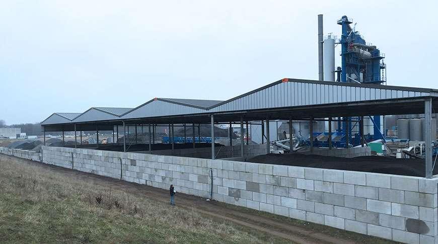 Pavilhões em Aço Industriais Armazenagem a Granel Frisomat