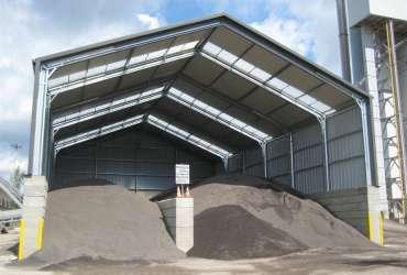 bulk storage building by Frisomat
