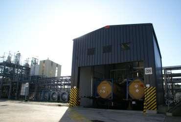 Estrutura Metálica Industrial Armazenamento Produtos Químicos Frisomat