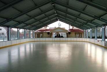 Pavilhão Desportivo Temporário Estrutura Metálica Gelo Frisomat