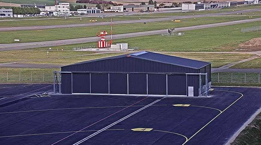 Pavilhões Hangares Industriais em Aço Aviação Aeronaves Frisomat