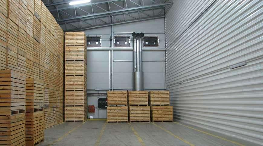 Pavilhões Estrutura Metálica Armazenamento de Batatas Frisomat