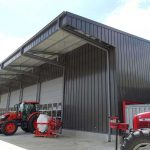 Building for machinery storage