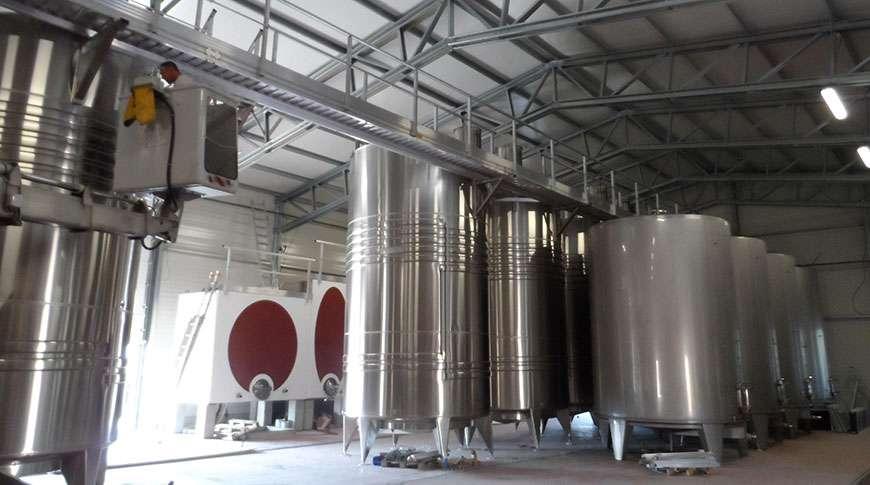 Pavilhões Estruturas em Aço Exploração Vinícola Pré-fabricados Frisomat