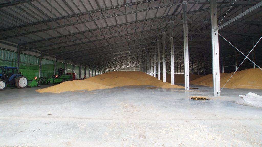 depósito de edifícios de armazenamento