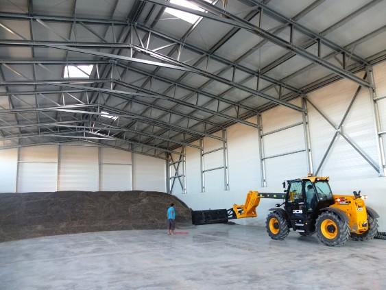 depósitos de armazenamento a granel