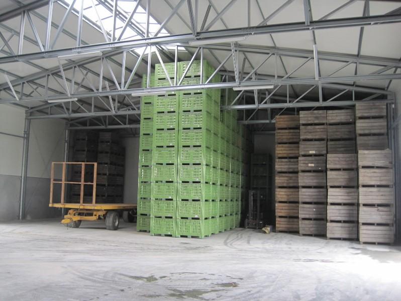 armazenamento de vegetais