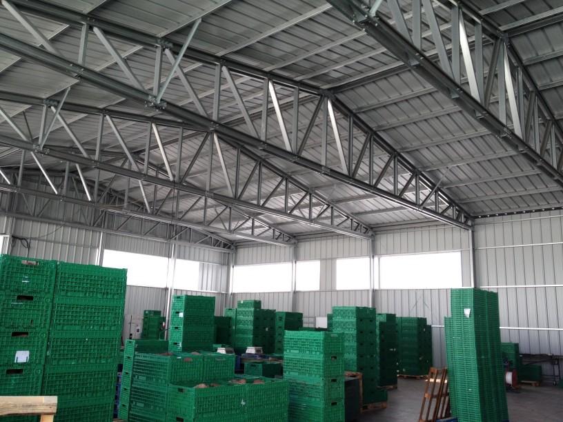 armazenamento agrícola de vegetais