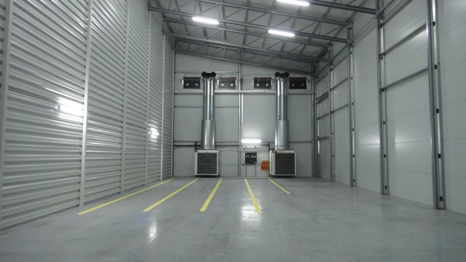 edifícios de armazenamento de batatas em aço