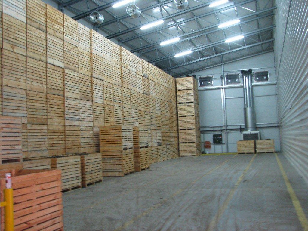 estimativa de armazenamento de batata
