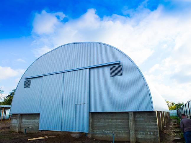 edifícios de armazenamento agrícola
