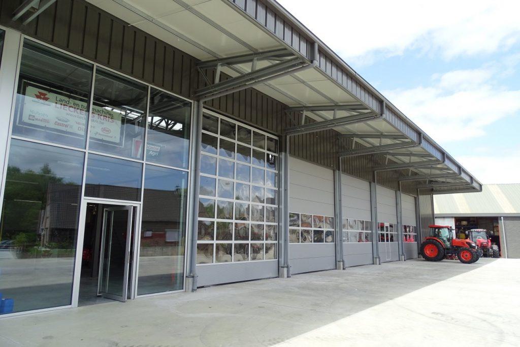edifícios de armazenamento acessíveis