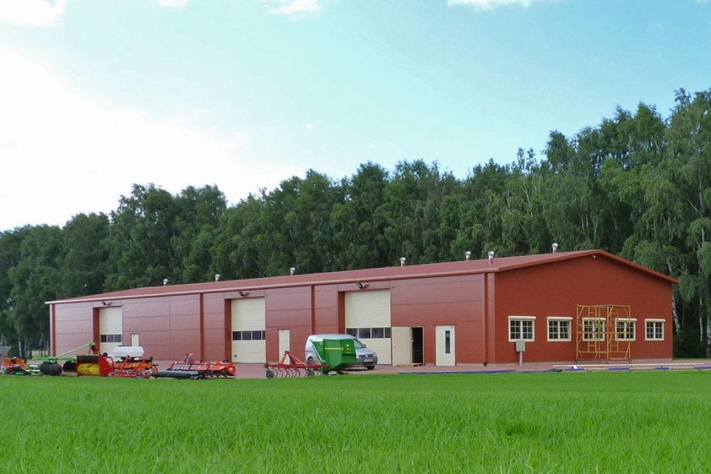 armazenamento agrícola isolado