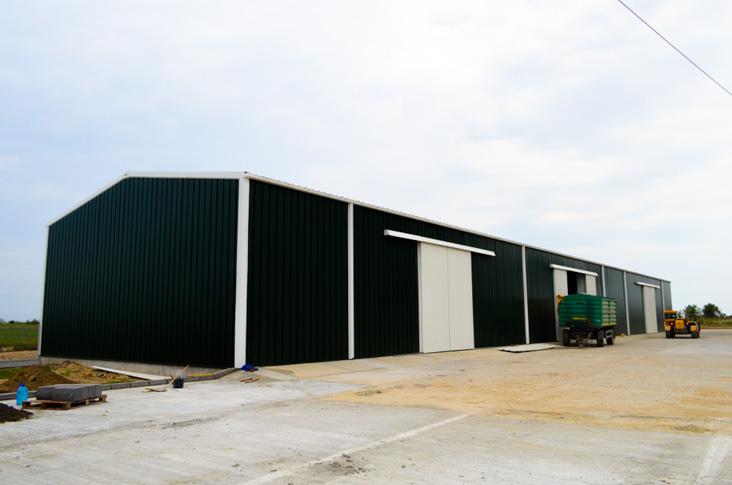 edifícios de armazenamento portáteis