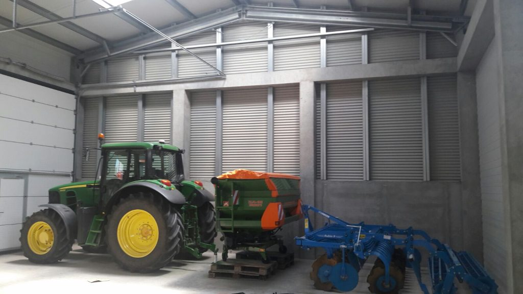 edifícios de armazenamento bioagrícolas