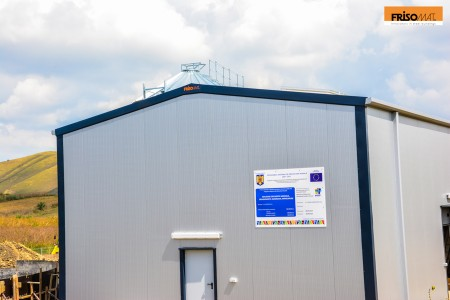 edifícios de armazenamento agrícola metálicos