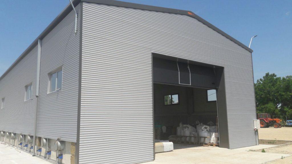 orçamento gratuito de edifício de armazenamento