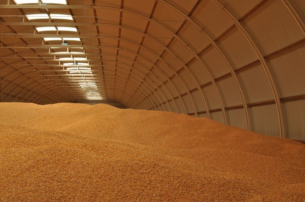 armazenamento a granel acessível