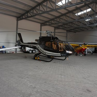 durable helicopter hangars