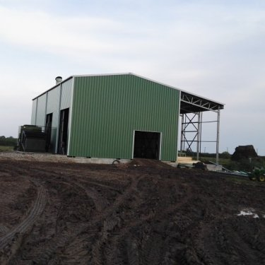 steel agricultural storage building