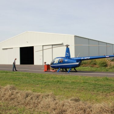 cheap helicopter hangars